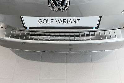 Door Sill and Loading Area Protector compatible with VW GOLF V Variation BUILT