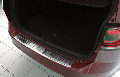 Stainless Steel Boot Edge Protector compatible with VW Golf 7 Variation ALLTRACK