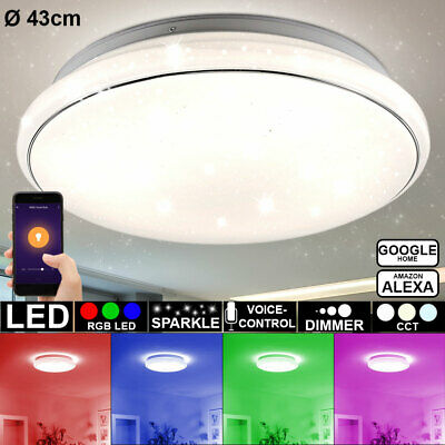Smart Home Leuchte RGB LED Pendel Decken Lampe IOS Google Android Alexa Wifi APP