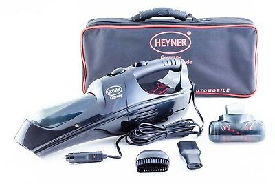 Quality strong 12V car vacuum cleaner hoover portable car cleaning from HEYNER