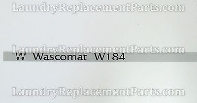 10 PACK NAMESTRIPS FOR WASCOMAT MACHINES W184 PART# 761982