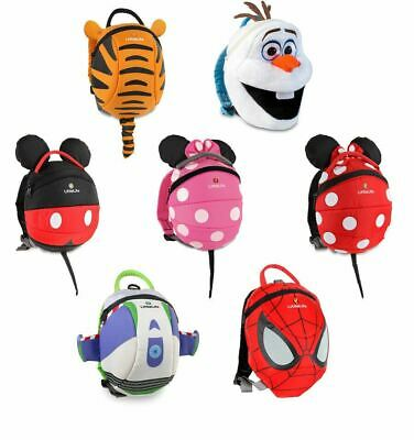 LittleLife Toddler Child Disney Animal Daysack Backpack With Safety Rein