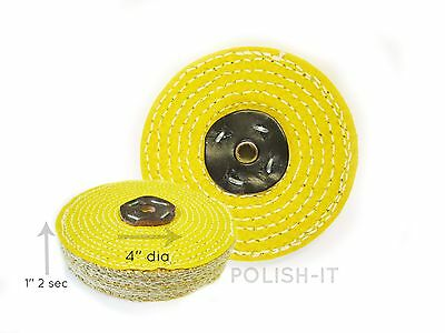 1 Off 4''X1'' 2 Sec (100Mm X 25Mm) Dry Sisal Mop, For Cutting & Flattening