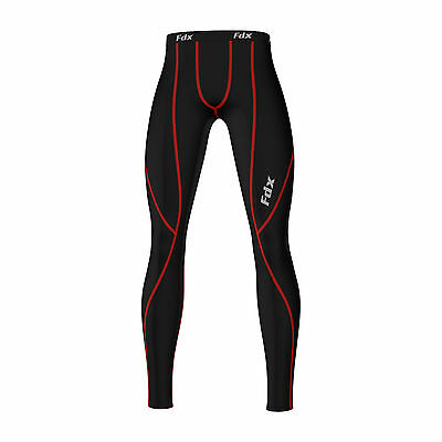 FDX Mens Athletic Compression Base layer skin pants, legging, tight running Gym