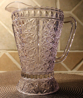 Antique Clio or Daisy & Button with Almond Band Pitcher