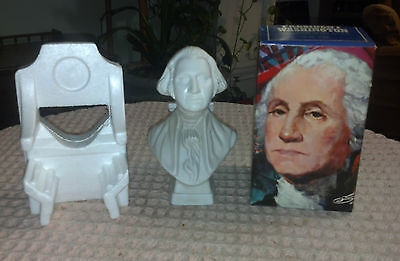 "NOS Vintage AVON ""TAI WINDS"" After Shave 6oz George Washington Bust w Box NEW"
