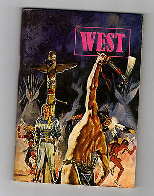 ►West N°48 - Pa Aska L'invicible - ( Buffalo Bill )  Jeunesse Et Vancances 1979