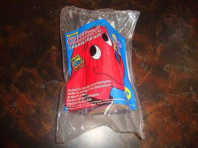 "Wendy's---Clifford The Big Red Dog---""Scholastic Issue""---2002---Factory Sealed"