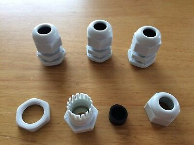 DIY ATU Marine Tropical Aquarium Pond 4 x IP68 Cable Gland For Project Boxes