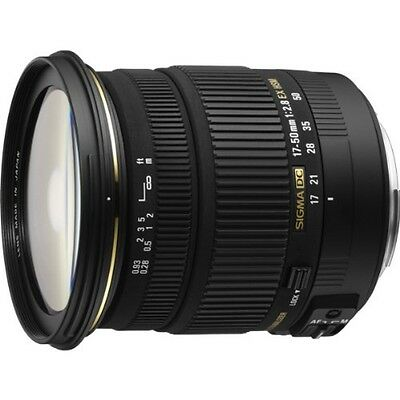 NEW Sigma 17-50mm F2.8 EX DC OS HSM EO Zoom Lens for Canon Import  From Japan