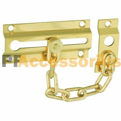 "4.5"" inch Door Bolt Chain Guard Door Lock Home Safety Security"