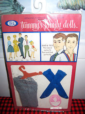 New in Package 1963 IDEAL**Tammy Family**Dad+Ted** PULLOVER SWEATER~JAPAN~#94581