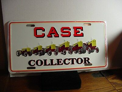 CASE TRACTOR -  Metal License Plate, NEW