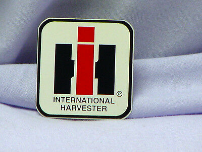 International Harvester - White Background, (2) Ih Logo Stickers