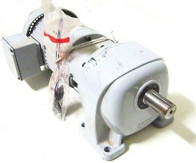 NEW!! GTR G3LE-22-40-T020WAX 3PH 4P 40:1 INDUCTION MOTOR