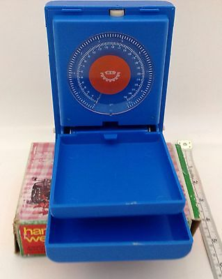 VINTAGE HANDI WEIGHT / DIET  & LETTER WITH CLIETETIC AND LETTER SCALE (Free S&H)