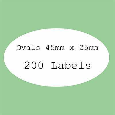 5 A4 Sheets Blank Labels Round Square Oval Stickers Rectangle Circle Stickers +