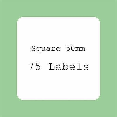 5 A4 Sheets Blank Labels Round Square Squares Oval Stickers Rectangles Stickers