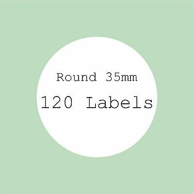5 A4 Sheets Blank Labels Round Square No Borders Oval Stickers Rectangle Sticker