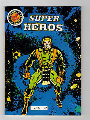 ► Super Heros -  N°6 - 1980 - Aredit  Dc  - Tbe