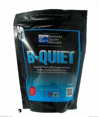 B Quiet Kentucky Powder Horse Pony Calmer Temperament Vitamins Minerals 600g