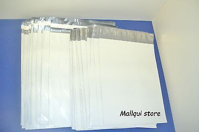 20 MAILER 19x24 and 14.5x19 WHITE POLY MAILING ENVELOPE SHIPPING BAGS- 2.5 Mil