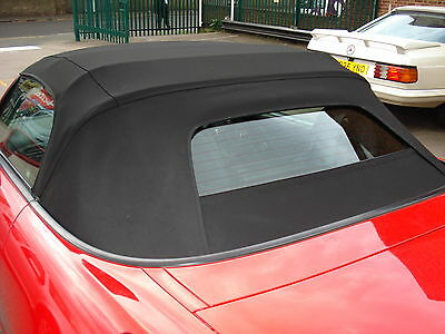 Honda S2000 Black Mohair Hood / Glass Window Soft-Top 2002-2008