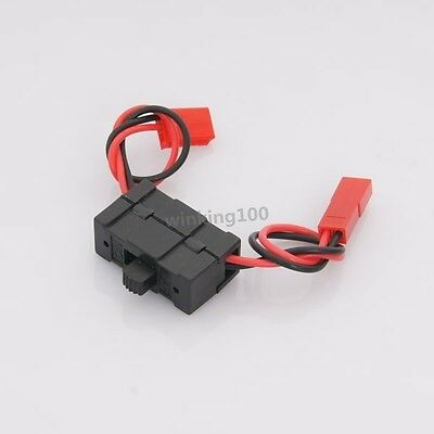 RC 1:10 On-Road Car/Buggy/Truck On/Off JST Connector For HSP 02050 Original Part