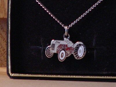 Ford 8N tractor necklace, NIB