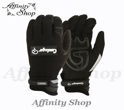Contego Work Gloves Mechanic Style Hand Protection NEW Mechanics Glove Any Size