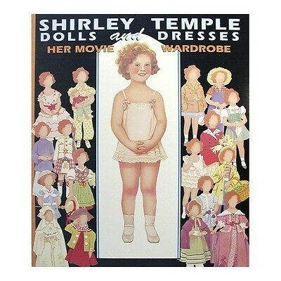 Shirley Temple Dolls & Dresses Paper Doll Book NEW IN STOCK