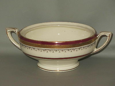 MYOTT - The Crowning Maroon #HW324 - SUGAR BOWL Missing LID - B15G
