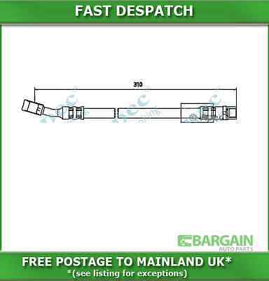Front Brake Hose For Vauxhall Corsa 1.0 Petrol Fwd 09/2000-10/2003 3306 Hos3445