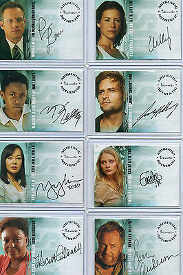 LOST Autograph And Costume Card Selection NM Inkworks Rittenhouse
