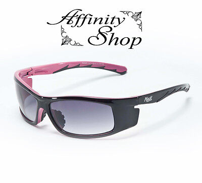 Mack Pink Lady Safety Glasses Ladies Work Eyewear Womens Sunglasses +Free Pouch