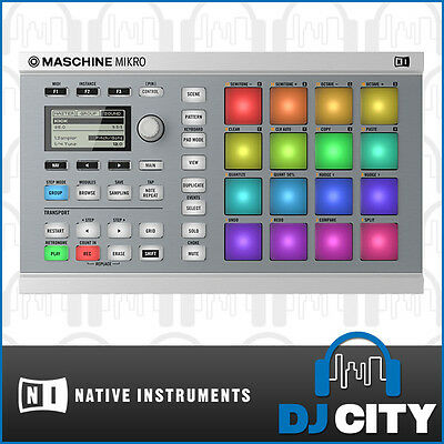 Native Instruments Maschine Mikro MK2 White Drum & Groove Studio Controller