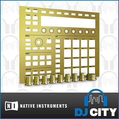 Native Instruments Maschine mkII Custom Kit - Gold