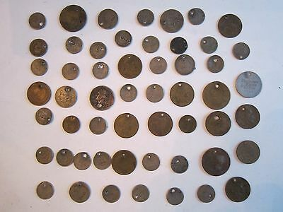 Lot Of Old World Wide Coins - Some Might Be Silver - Unsearched -  Bn-5