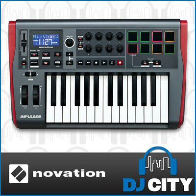 Impulse25 Novation Midi Keyboard 25 Key With Automap Software Included Impuls...