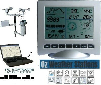 OZWeather™ Wireless Professional Weather Station with PC Software