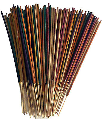 Incense Sticks Premium Masala Indian 100 Long Burn Joss Stick Multi Aromas