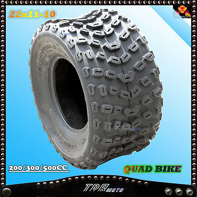 22x11-10 Inch  Knobby Tire/Tyre  ATV UTV Quad Bike Buggy  Mower 300/400/450cc