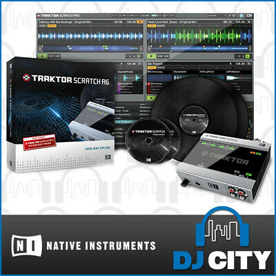TSA6 Native Instruments Scratch A6 Audio 6 Traktor DVS Digital Vinyl DJ System