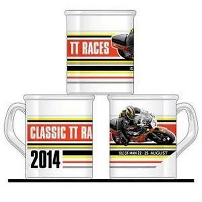 Classic TT 2014 white mug. Official TT Isle of Man Merchandice. Special Offer!