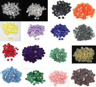 100 x Fish Eye Buttons Size 22 (14 mm) - Choice of 23 Colours