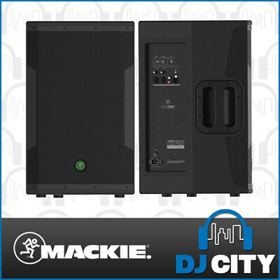 SRM550 Mackie Active Powered 12 Inch PA Speaker 1600 Watts - BNIB - DJ City A...