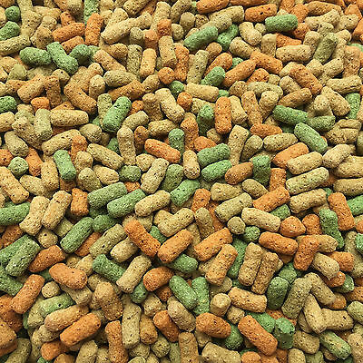 10Kg Mixed Koi Carp Pond Fish Sticks Premium Growth Colour Enhancing 30% Protein