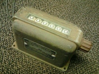 Vintage Veeder-ROOT 6 Digit Counter  USA