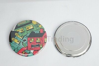Pack of 100pc Strong ND Magnet Badge Maker Button Maker Supply 44mm Round