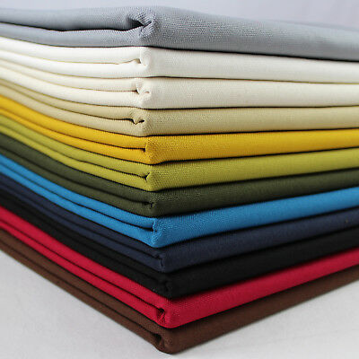 "Heavy Canvas 100% Cotton Upholstery Weight Quality Fabric 44"" wide per metre"